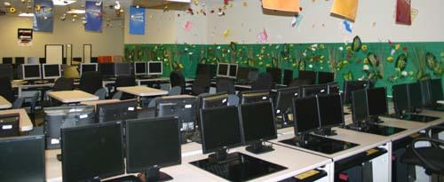 ザッポスの新入社員研修や社内教育に利用される部屋
