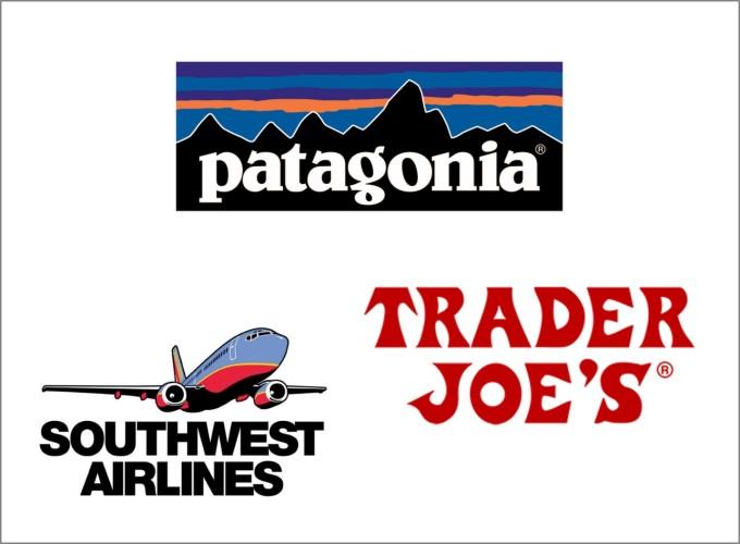 堅固な企業文化をもつ企業、トレーダージョーズ、パタゴニア、サウスウェスト航空